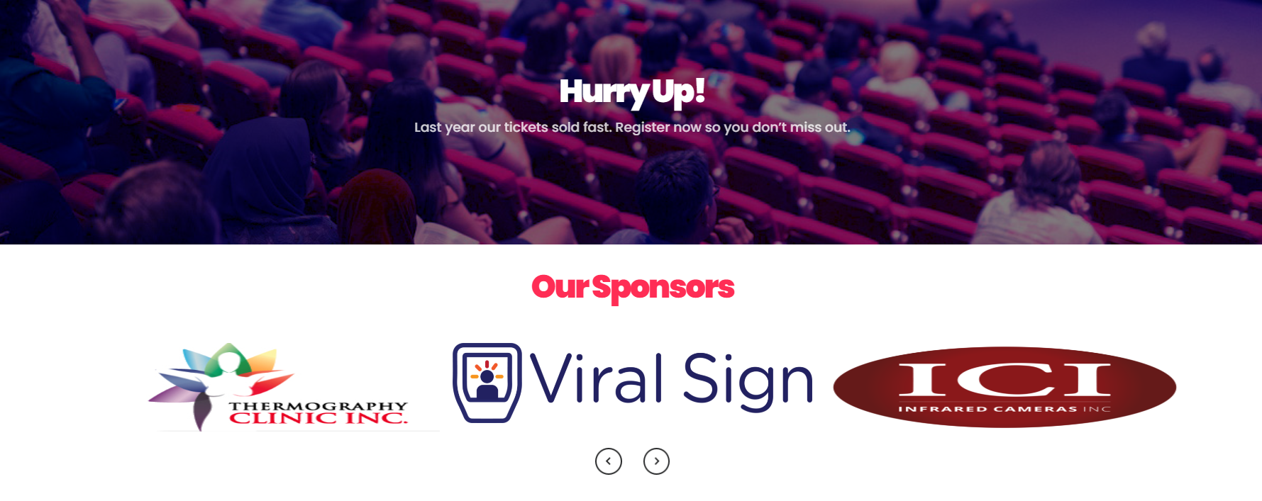 Viral Sign is proud to sponsor the Annual Meeting of the American Academy of Thermology (AAT)